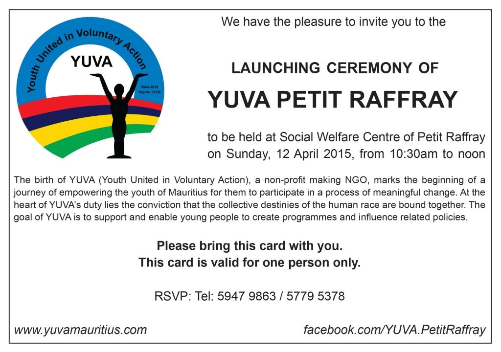 YUVA Petit Raffray