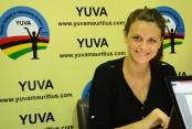Jana Huwyler, YUVA SDGs International Ambassador from Switzerland.
