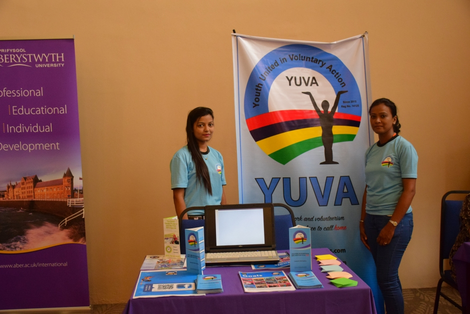 YUVA District of Pamplemousses participated in the Workshop on International Women's Day at Aberystwyth University Mauritius Branch Campus, inline with YUVA's Sustainable Development Goal of GENDER EQUALITY. (Photo: Konceptual Photography / YUVA / 2016)