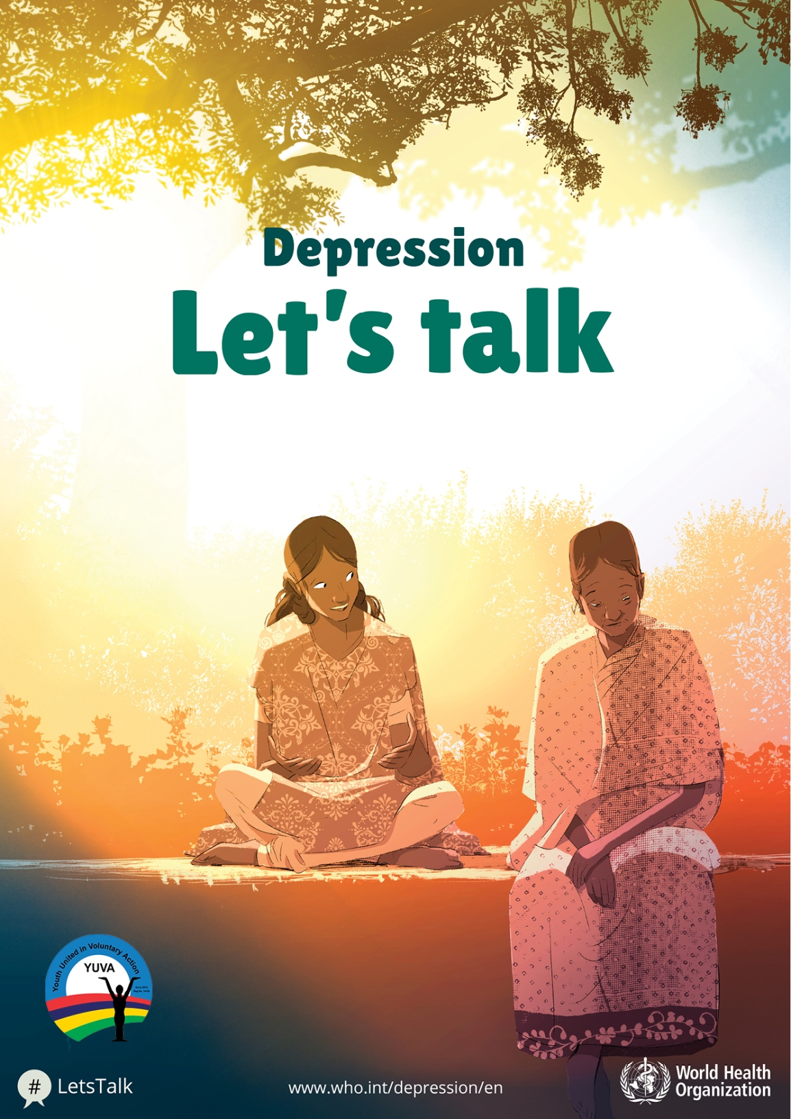 7 April, World Health Day: Let's talk aboutDepression